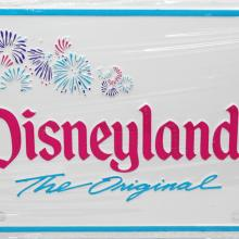 Disneyland 1991 Novelty License Plate - ID: augdisneyana20168 Disneyana