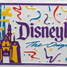 Disneyland the Original Novelty License Plate - ID: augdisneyana20171 Disneyana