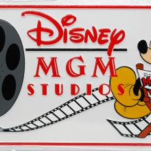 Disney MGM Studios 1987 Novelty License Plate - ID: augdisneyana20176 Disneyana