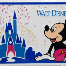 Walt Disney World Novelty License Plate - ID: augdisneyana20179 Disneyana