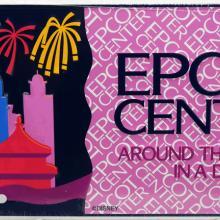 Epcot Center Around the World in a Day Novelty License Plate - ID: augdisneyana20181 Disneyana