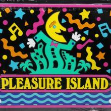 Pleasure Island Novelty License Plate - ID: augdisneyana20182 Disneyana
