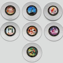 Disney Store Fossil Watch Collector Series III Set of Seven - ID: augdisneyana20205 Disneyana