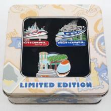 Monorail Limited Edition Mickey's Pin Odyssey Set - ID: augdisneyana20241 Disneyana