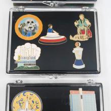 Classic Disneyland Complete Set of (14) Pins - ID: augdisneyana20242 Disneyana