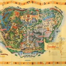 45th Anniversary 1958-A Map Reproduction - ID: augdisneyana20250 Disneyana