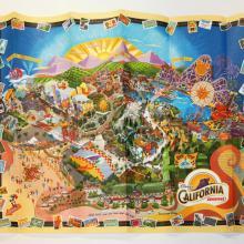 California Adventure 2001 Map - ID: augdisneyana20254 Disneyana