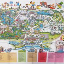 Magic Kingdom 1979 WDW Map - ID: augdisneyana20256 Disneyana