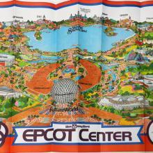 WDW Epcot Center 1982 Map - ID: augdisneyana20257 Disneyana