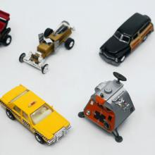 Collection of (8) TV Show Toy Cars - ID: augdisneyana20500 Pop Culture