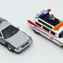 Collection of (4) Assorted Movie Inspired Toy Cars - ID: augdisneyana20503 Pop Culture