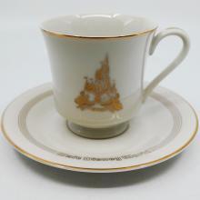 Walt Disney World Teacup and Saucer - ID: augdisneyland20074 Disneyana