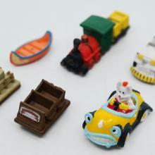 Disney Ride Vehicle Miniature Figures - ID: augdisneyland20090 Disneyana