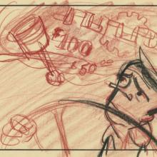 Pete Hothead Storyboard Drawing - ID: aughothead21118 UPA