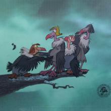 Jungle Book Production Cel - ID: augjunglebook20995 Walt Disney
