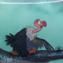 Jungle Book Production Cel - ID: augjunglebook20996 Walt Disney