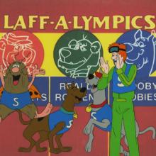 Laff-A-Lympics Production Cel - ID: auglaff21119 Hanna Barbera