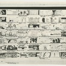 TRON Xerox Production Storyboards - ID: augtron21088 Walt Disney