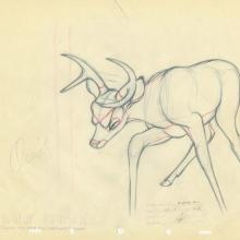 Bambi Production Drawing - ID: decbambi20019 Walt Disney