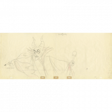 Sleeping Beauty Production Drawing - ID: decbeauty20060 Walt Disney