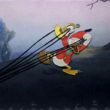 The Fox Hunt Production Cel - ID: decdonald20179 Walt Disney