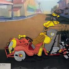 Fire Chief Production Cel - ID: decdonald20185 Walt Disney