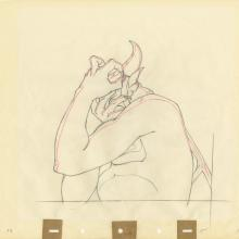 Fantasia Production Drawing - ID: decfantasia20038 Walt Disney