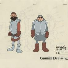 Adventures of the Gummi Bears Model Cel - ID: decgummibears20312 Walt Disney