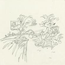 Chuck Jones Original Looney Tunes Drawing - ID: declooney20113 Chuck Jones