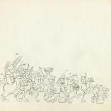 Chuck Jones Original Looney Tunes Drawing - ID: declooney20126 Chuck Jones