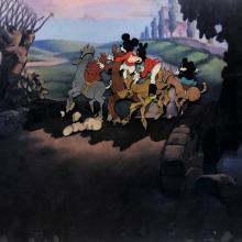 The Fox Hunt Production Cel - ID: decmickey20181 Walt Disney