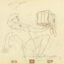 Peter Pan Production Drawing - ID: decpeterpan20044 Walt Disney