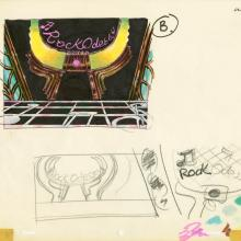 Rock Odyssey Concept Art - ID: decrock20227 Hanna Barbera
