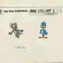 Tiny Toon Adventures Model Cel - ID: dectinytoons20301 Warner Bros.