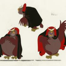 Rock-A-Doodle Model Cel - ID: febmis25 Don Bluth