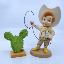It's a Small World USA Cowboy WDCC Figurine - ID: febwdcc21619 Disneyana
