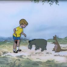 Winnie the Pooh and the Blustery Day Production Cel - ID: febwinnie21067 Walt Disney