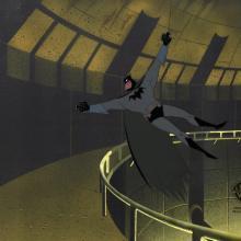 Batman the Animated Series Production Cel - ID: janbatman21008 Warner Bros.
