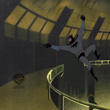 Batman the Animated Series Production Cel - ID: janbatman21009 Warner Bros.