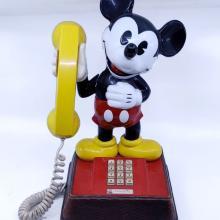 Mickey Mouse Push Button Phone - ID: jandisneyana21756 Disneyana