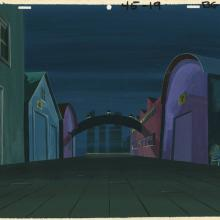Scooby Doo, Where Are You? Production Background - ID: janhbbg6802 Hanna Barbera