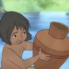 Jungle Book Production Cel - ID: janjungle21018 Walt Disney