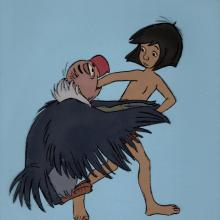 Jungle Book Production Cel - ID: janjungle21074 Walt Disney