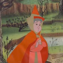 Sleeping Beauty Production Cel - ID: jansleeping21026 Walt Disney