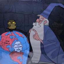 Sword in the Stone Production Cel - ID: jansword21025 Walt Disney