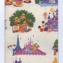 Disneyland Paper Souvenir Shopping Bag - ID: juldisneyana21094 Disneyana