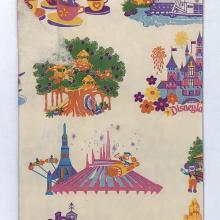 Disneyland Paper Souvenir Shopping Bag - ID: juldisneyana21095 Disneyana