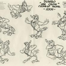Dumbo Photostat Model Sheet - ID: juldumbo21275 Walt Disney