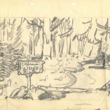Barney Bear Layout Drawing  - ID: julybarney20118 MGM