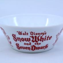 Snow White and the Seven Dwarfs Vitrock Bowl - ID: julydisneyana21011 Disneyana